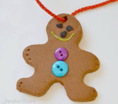 gingerbread clay recipe 2 cups of baking soda 1 cup of corn starch