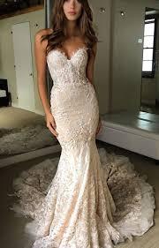 wedding dress mermaid the shoulder 3 4 length sleeves lace up mermaid wedding dress
