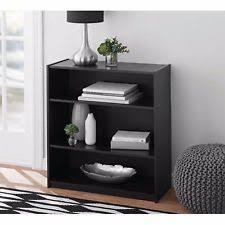 Mahogany Effect Bookcase Bookcase New Used Corner Wood Narrow Ladder Ebay