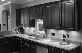 kitchen tile backsplash patterns dark wood cabinets stone kitchen