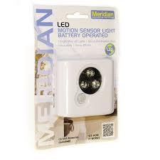 11601 led battery operated motion sensor light