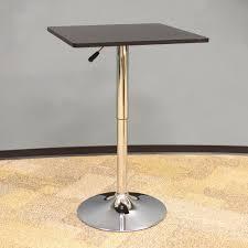Square Bistro Table Amerihome Classic Style 36 In L Wood Top Square Bistro Table In