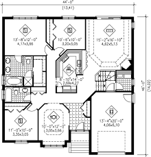 Home Design 150 Sq Meters 1600 Sq Ft House 1600 Sq Ft Open Floor Plans Square House Floor
