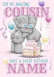 cousin birthday card me to you amazing cousin birthday card funky pigeon