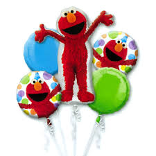 balloon bouquets elmo style birthday mylar balloon bouquet inflated balloon shop nyc