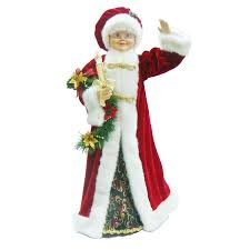 shop living 28 animated mrs claus at lowes