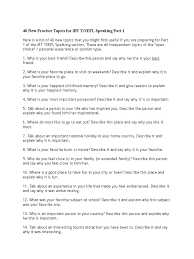 40 new practice topics for ibt toefl speaking part 1 psychology