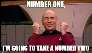 Two Picture Meme Maker - excited picard imgflip