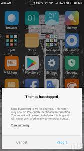 theme app bugs xiaomi miui official forum