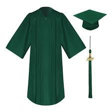cap and gown matte elementary cap gown tassel gradshop