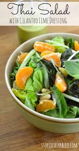 thai salad with cilantro lime dressing recipe u2013 stupid easy paleo