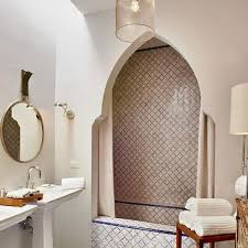 moroccan bathroom ideas alcove shower design ideas