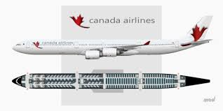 a340 seat map canada airlines seat map a340 600 sketches gallery airline