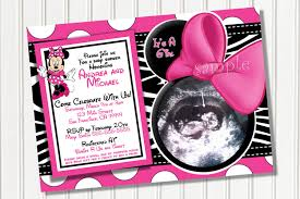 minnie mouse baby shower invitations minnie mouse baby shower invitation idea baby things