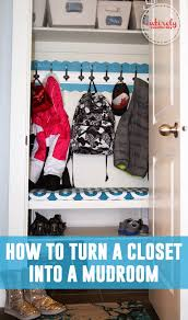 diy closet turned mudroom ikea hack entirely eventful day