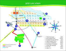 Islamabad Map Federal Government Employees Housing Foundation Islamabad