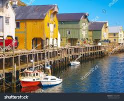 Boat House Harbour Boat House Norway Nyksund Stock Photo 116622937 Shutterstock