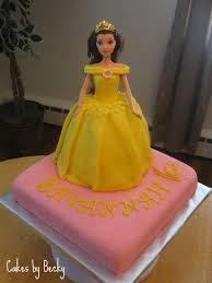 cakes by becky princess belle birthday cake