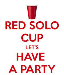Red Solo Cup Meme - red cup party 30th birthday party ideas pinterest red solo