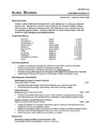 exles of the best resumes 7 resume basic computer skills exles sle resumes sle