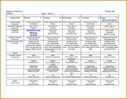 preschool lesson plan template book weekly do elipalteco