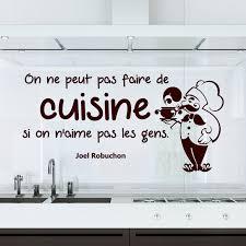 citation sur la cuisine sticker citation on ne peut pas faire de cuisine joel robuchon