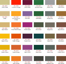 ral color chart sherwin williams paint color chart ral color