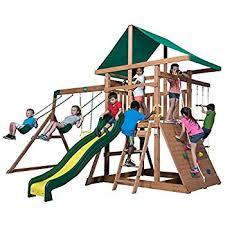 Weston Backyard Discovery Amazon Com Backyard Discovery Independence All Cedar Wood Playset