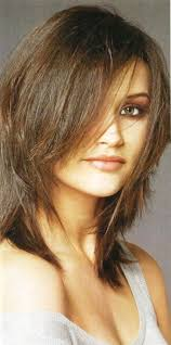 ideas about medium length layered hairstyles for fine hair cute
