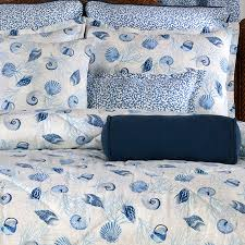 Seashell Queen Comforter Set Barbados Seashell Bedding