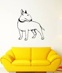 online buy wholesale pet wall decals from china pet wall decals free shipping wall decal bullterrier dog pet animal feet tail guard vinyl stickers wall decal decol