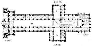 cathedral floor plan the project gutenberg ebook of architecture gothic and renaissance