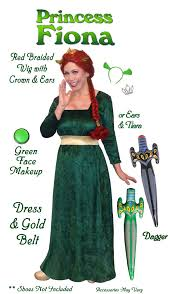 Halloween Costume Clearance Sold Clearance Princess Fiona Costume Shrek Size