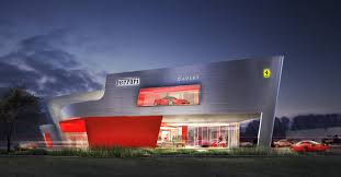 ferrari dealership cauley ferrari portfolio inform studio