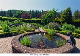 ornamental pond in country stock photos ornamental pond
