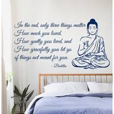 Wall Sticker Warehouse Buddha Quote Sticker Vinyl Wall Art Free Shipping Today
