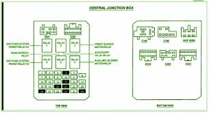 2000 ford windstar central junction fuse box diagram u2013 circuit