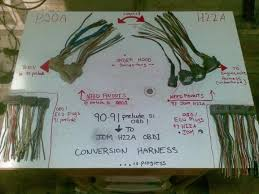 h22a jdm swap electrical harness how to honda prelude forum