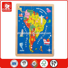 United States Map Puzzle by South America Map Puzzle Birch Plywood Seven Continents Map