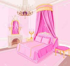 interior clipart pink bedroom pencil and in color interior