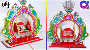 diy ideas how to make jhula for bal gopal at home best out of