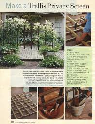 a privacy trellis you really can diy