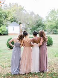 dusty bridesmaid dress 35 ideas for mix and match bridesmaid dresses