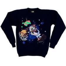 space jam sweater space jam vintage sweatshirt crew neck sweater on etsy 59 87