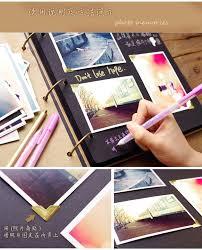 Black Leather Photo Album Extra Large Leather Photo Album Scrapbook Wedding Guest Book Black