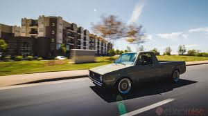 volkswagen rabbit truck custom corey faris u0027 eurowise built mk1 vr6 caddy charlotte nc youtube