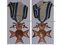 germany ww1 bavaria cross merit merenti 1866 2nd class