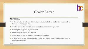 Letter Meaning In cover letters definition city espora co
