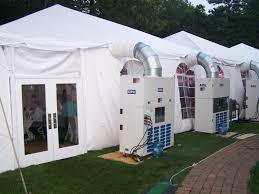 air conditioned tent tents air conditioners