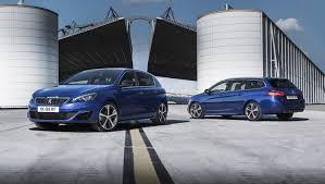peugeot reveals 308 gt hatchback diesel gt wagon too